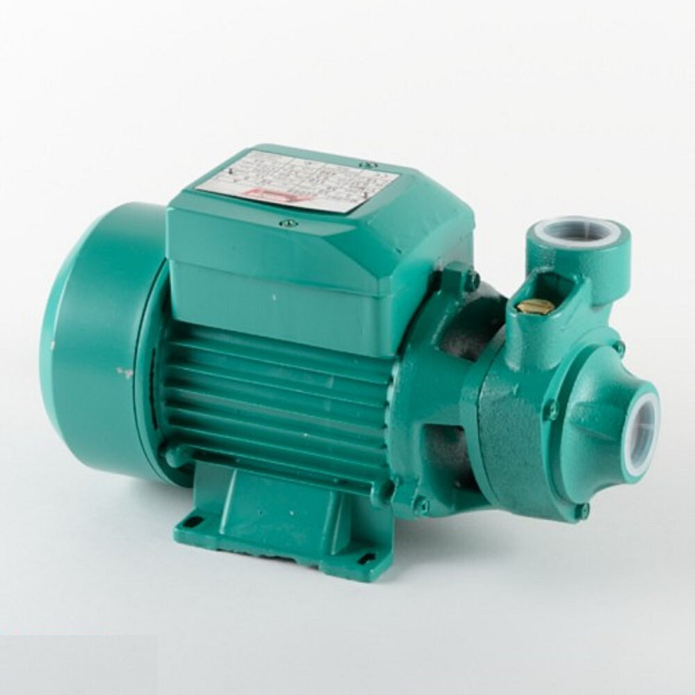 1 2 hp electric water pump pool farm pond biodiesel ebay for Pond water pump