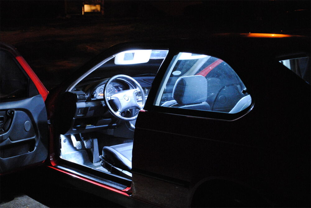 5x led innenraum beleuchtung lichtpaket wei f r bmw 3er. Black Bedroom Furniture Sets. Home Design Ideas
