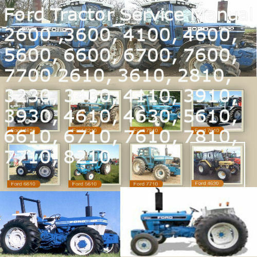 Ford Tractor 2600 Series : Ford tractor thru