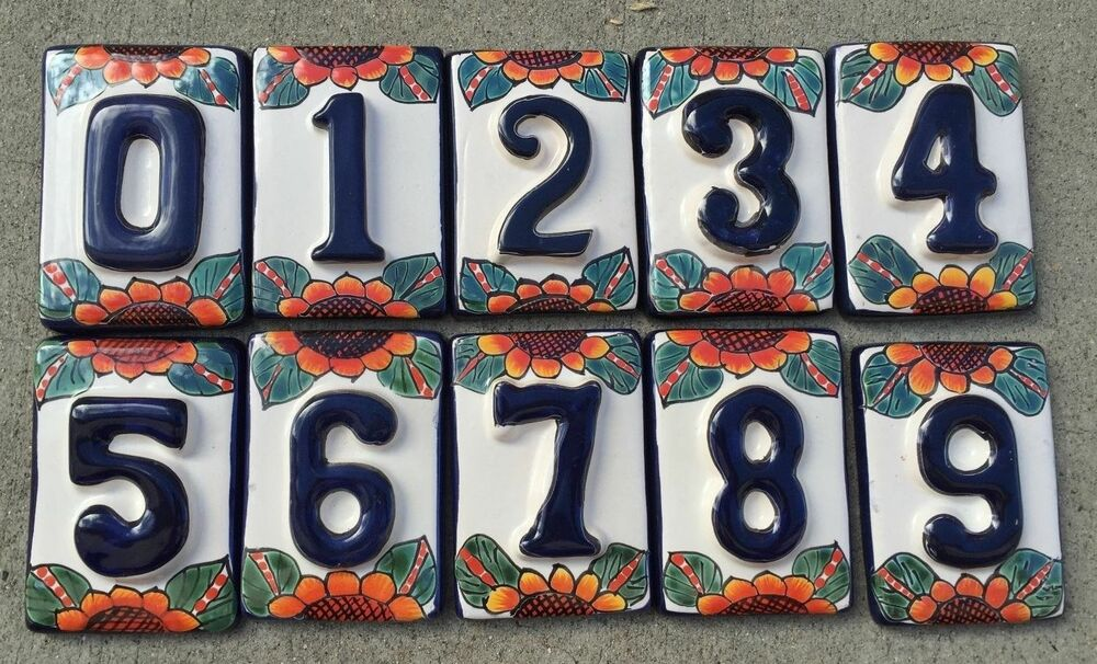 Painted House Address Numbers