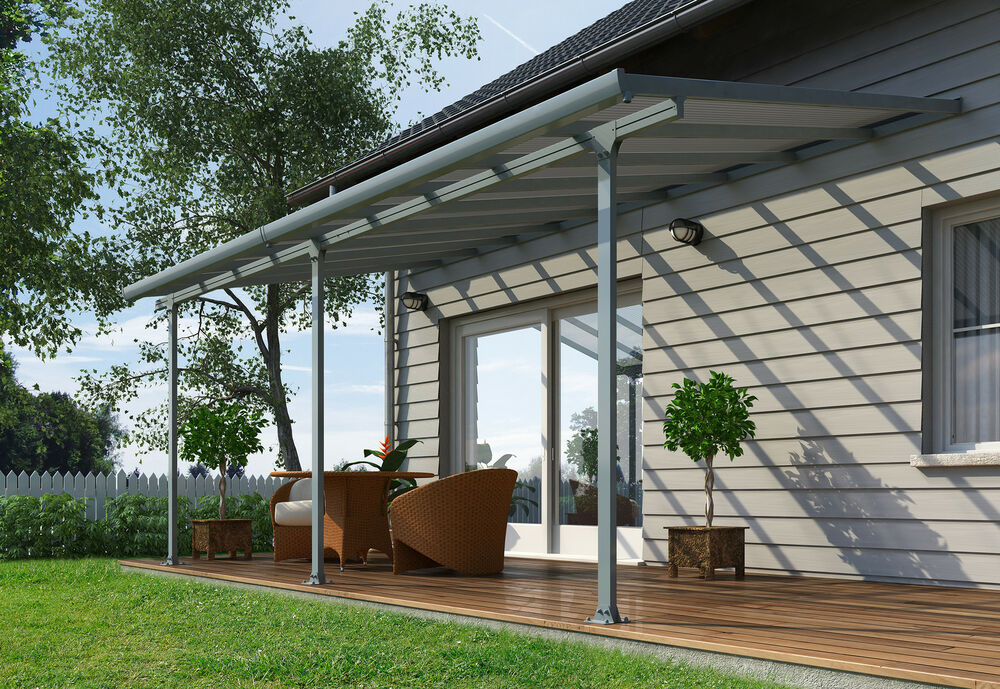 Carports Pergola Kits : Pergola diy outdoor patio cover kit m veranda roofing