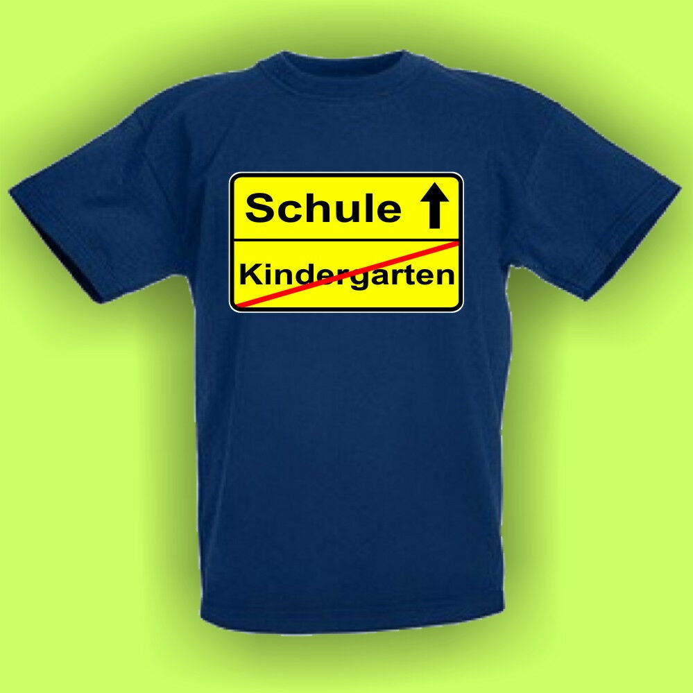 kindergarten schule einschulung kinder fun t shirt. Black Bedroom Furniture Sets. Home Design Ideas