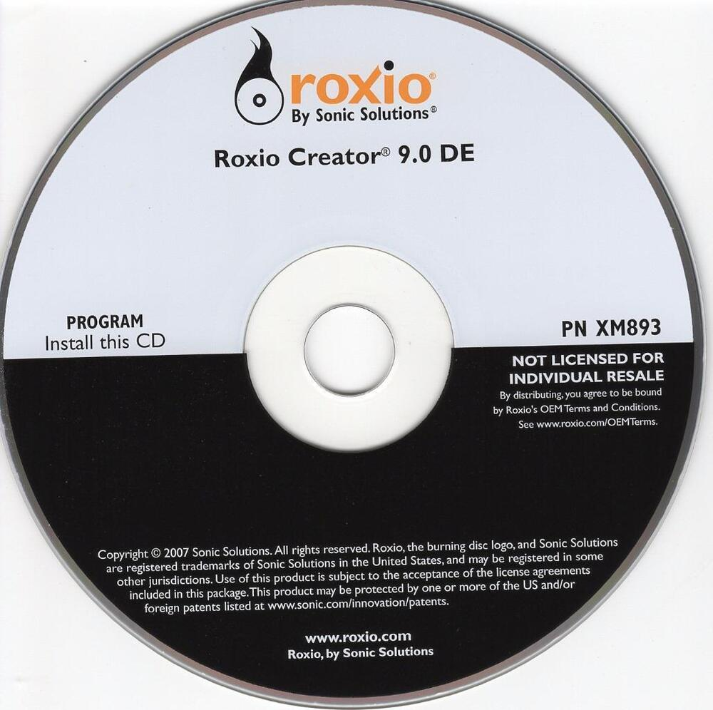 Roxio Easy CD and DVD Burning (free version) download for PC