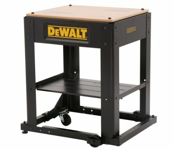 Heavy Duty Metal Portable Mobile Black Thickness Planer