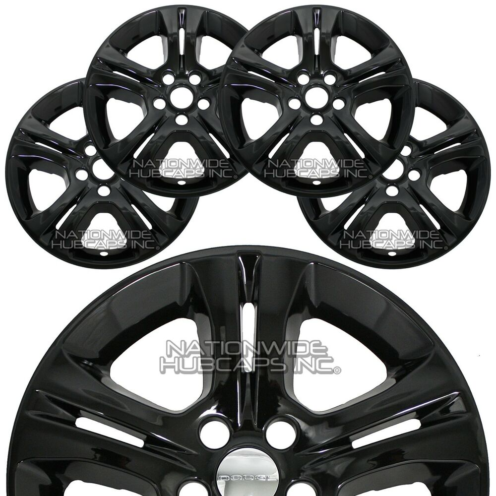 4 new 2015 2018 dodge charger 17 black wheel skins hub caps full Jeep Wheel Spacers details about 4 new 2015 2018 dodge charger 17 black wheel skins hub caps full rim covers