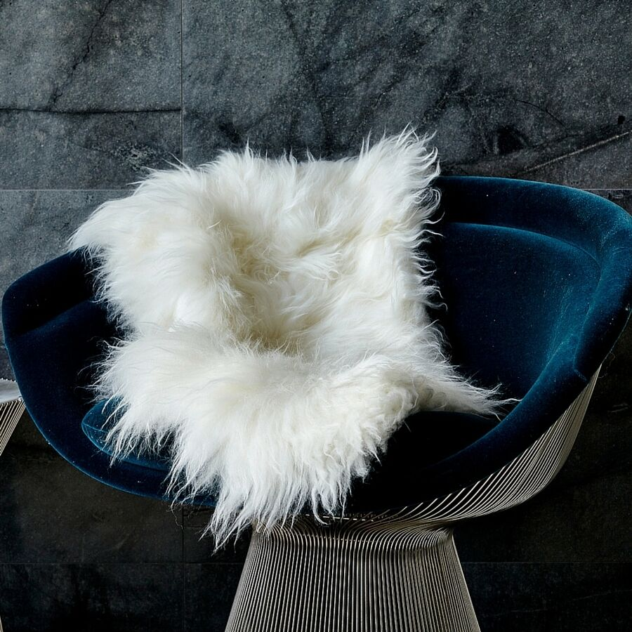 Natural White Long ,soft Wool