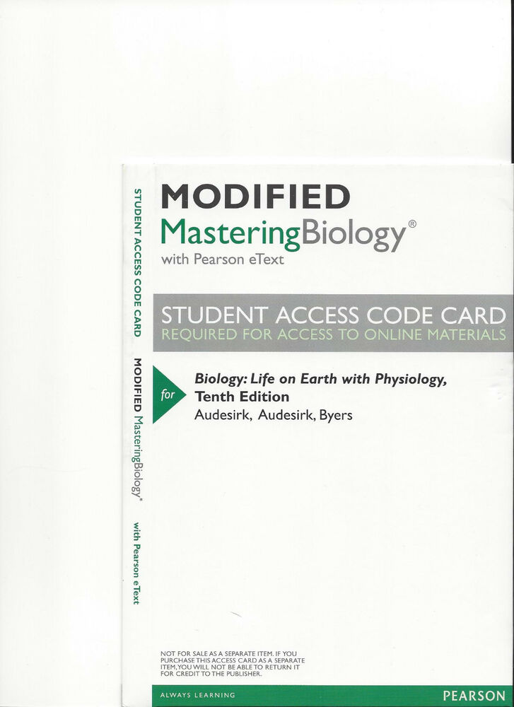 pearson mastering biology coupons