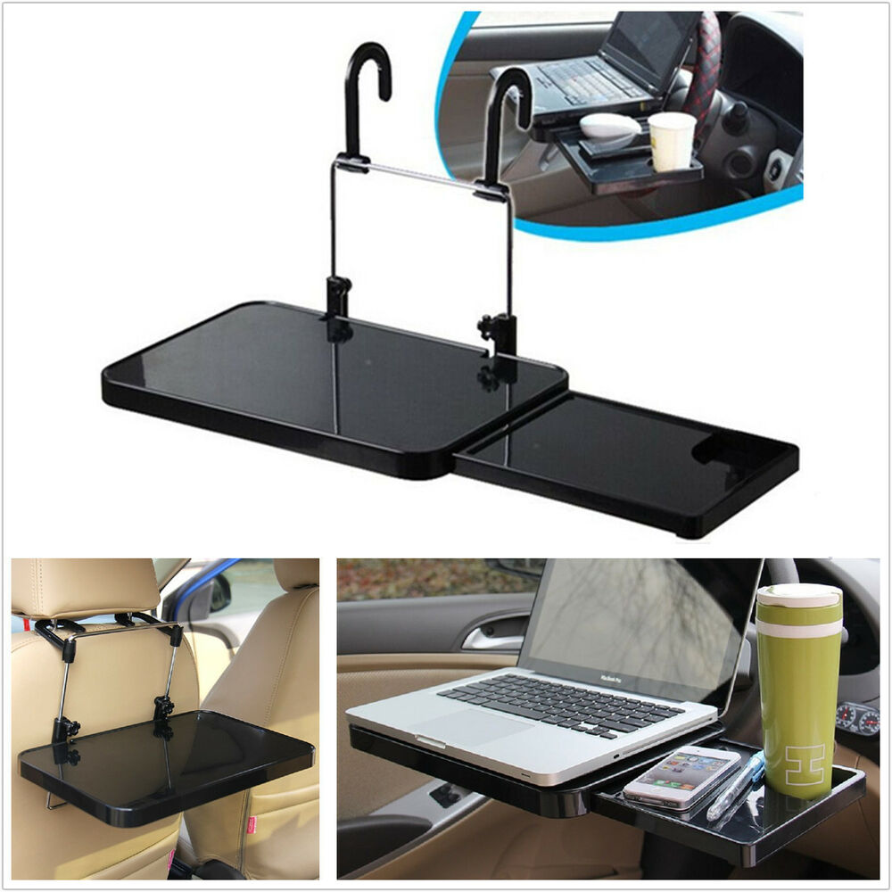 Foldable Car Steering Wheel Back Seat Tray Laptop Holder