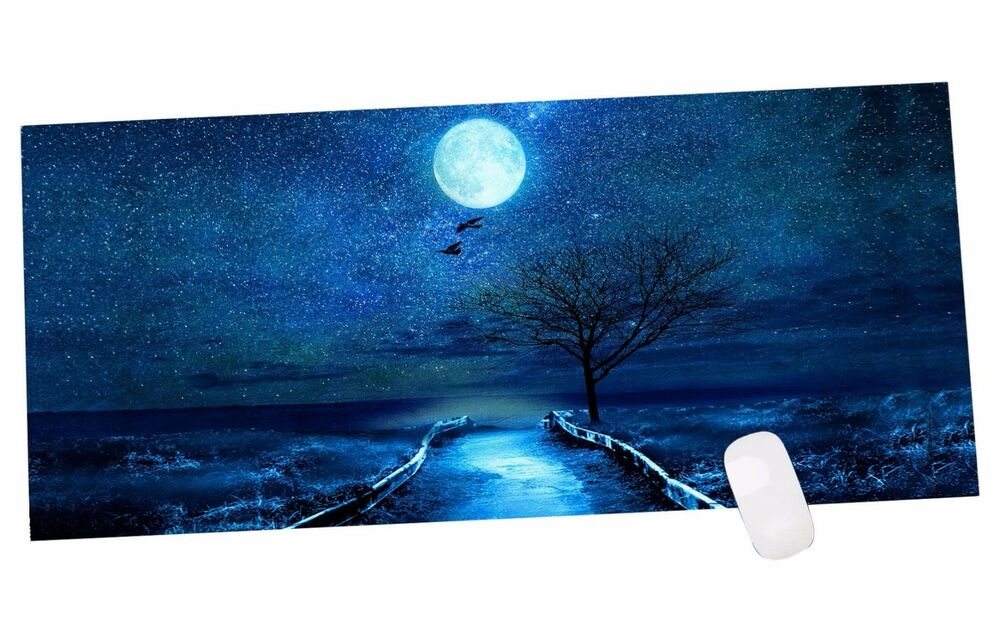 Anti Slip Laptop Computer Gaming Large Mouse Pad Keyboard