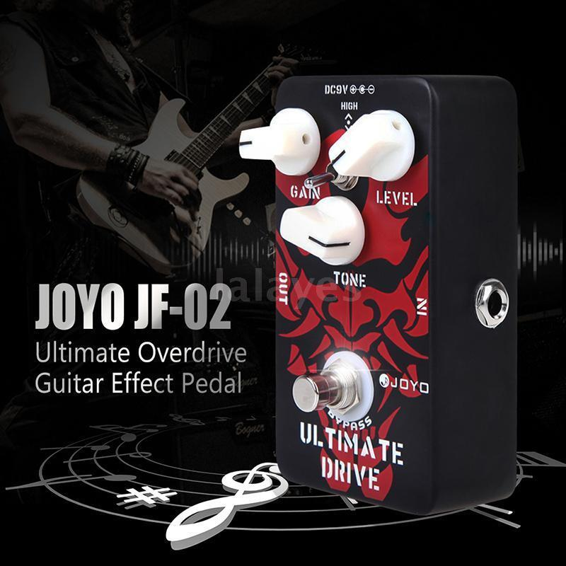 joyo jf 02 ultimate drive overdrive guitar effect pedal c7h2 ebay. Black Bedroom Furniture Sets. Home Design Ideas