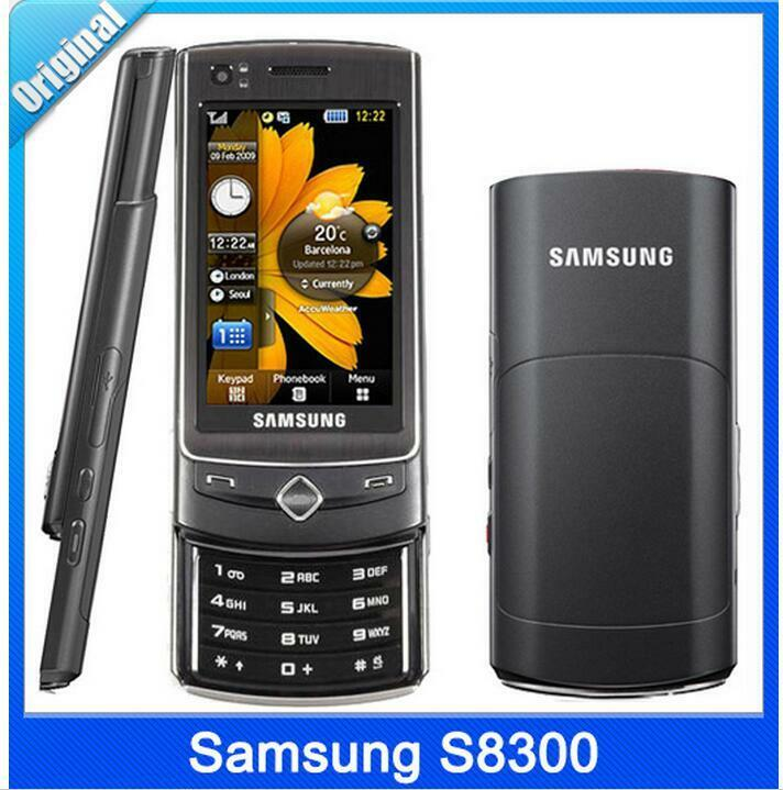 samsung s8300 3g slider mobile phone 2 8 touch screen a gps 8mp camera ebay. Black Bedroom Furniture Sets. Home Design Ideas