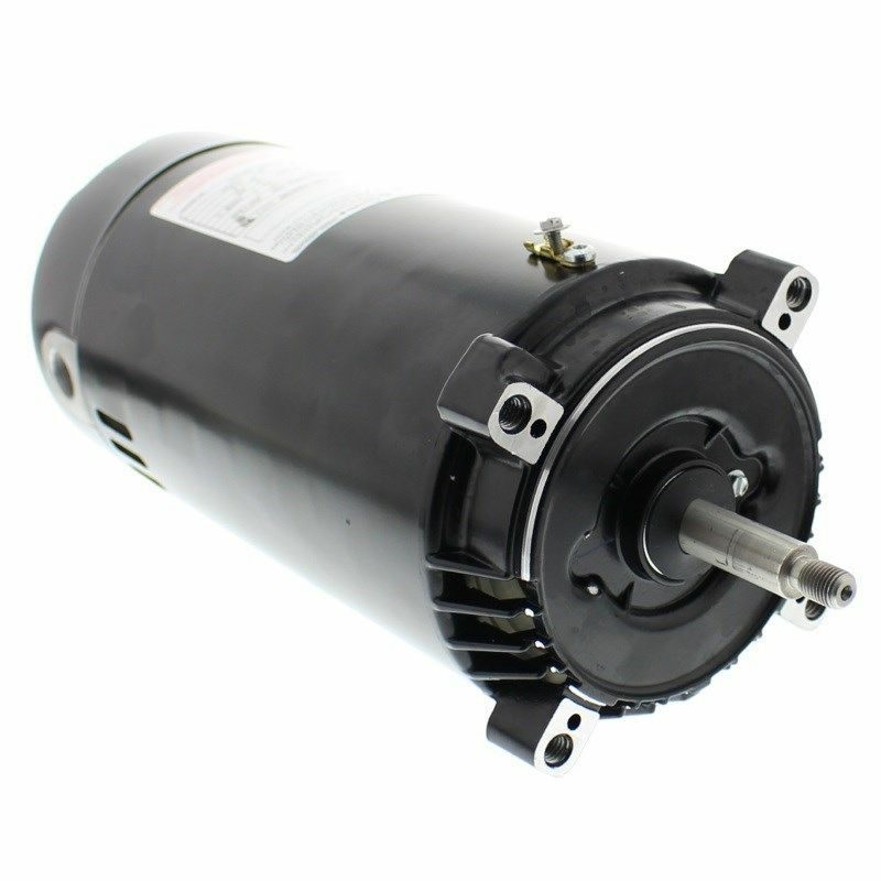 Ao smith century hayward swimming pool pump motor 1 hp for Ao smith replacement motors