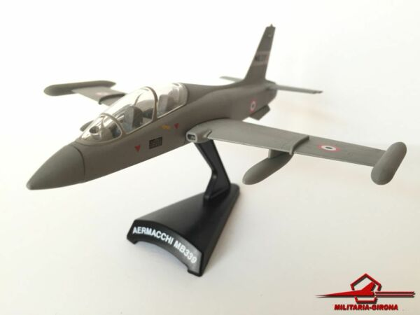 MODEL POWER/POSTAGE STAMP PLANE 5358 AERMACCHI MB339 Scale 1:94 DIECAST BLISTER
