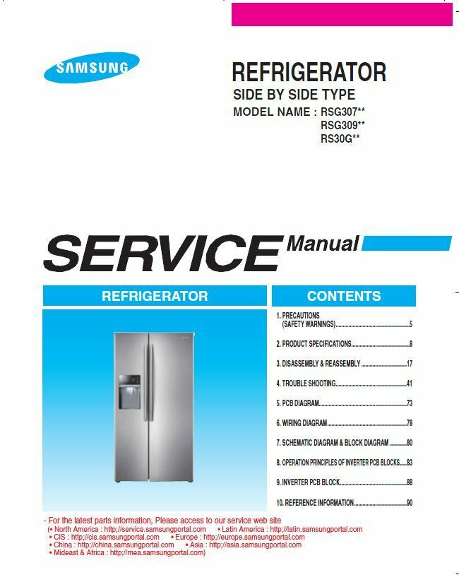 Samsung RSG307AARS RSG307AABP RSG307AAWP Service Manual ... - photo#18