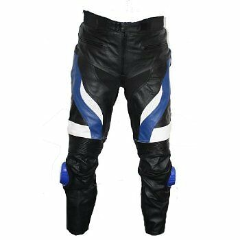 new mens leather motorcycle pants trousers waist 32 to 42 inch ebay. Black Bedroom Furniture Sets. Home Design Ideas