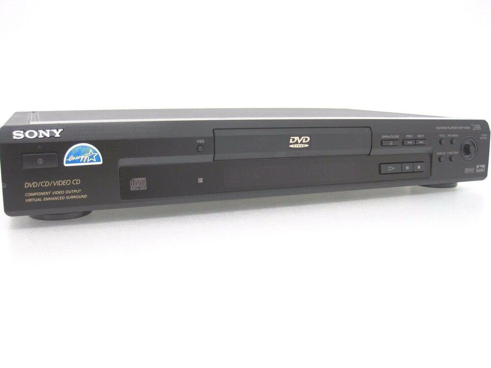 sony dvp s360 dvd cd vcd player home theater video audio. Black Bedroom Furniture Sets. Home Design Ideas