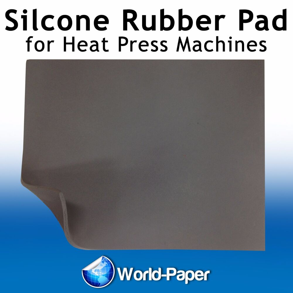 New Silicone Rubber Mat Pad 16x20 Quot Flat T Shirt Heat