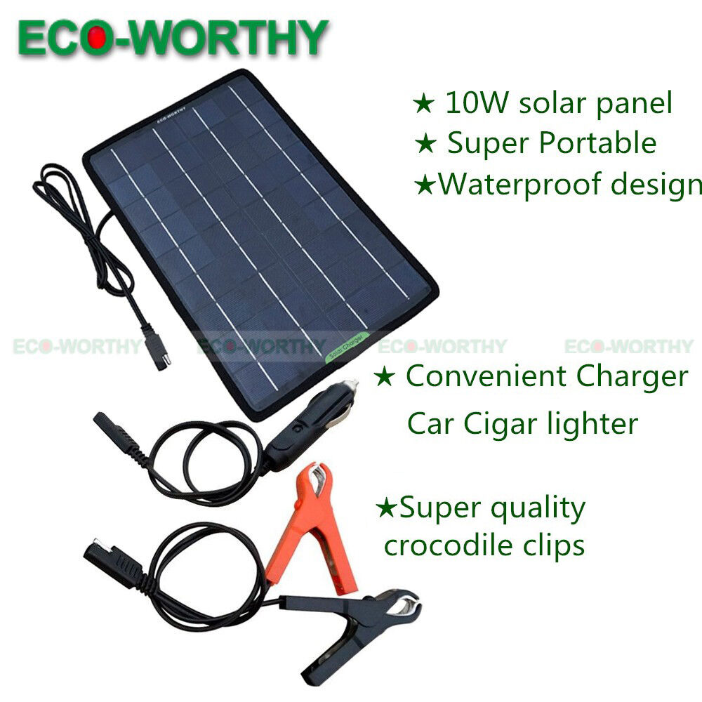 Car Battery Trickle Charger Ebay