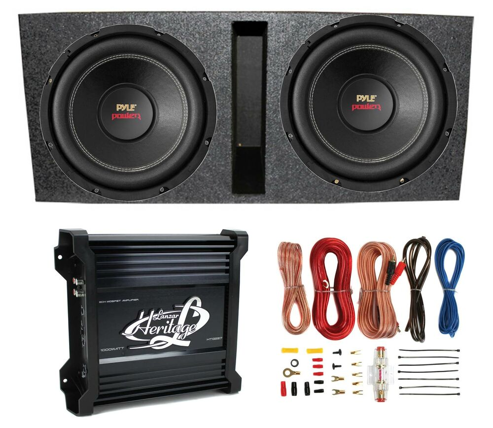 Wiring Kit For Subwoofers And An Amp