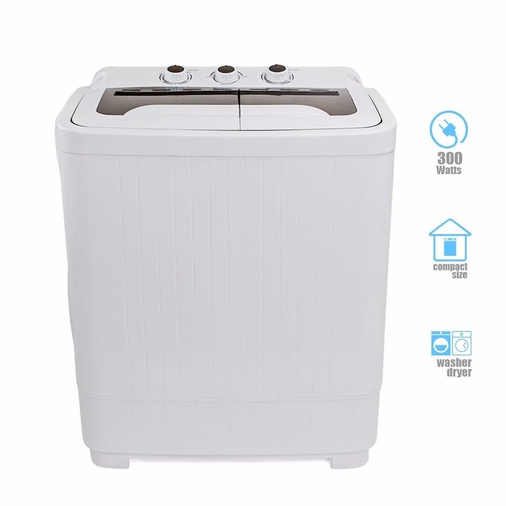 compact tub washing machine