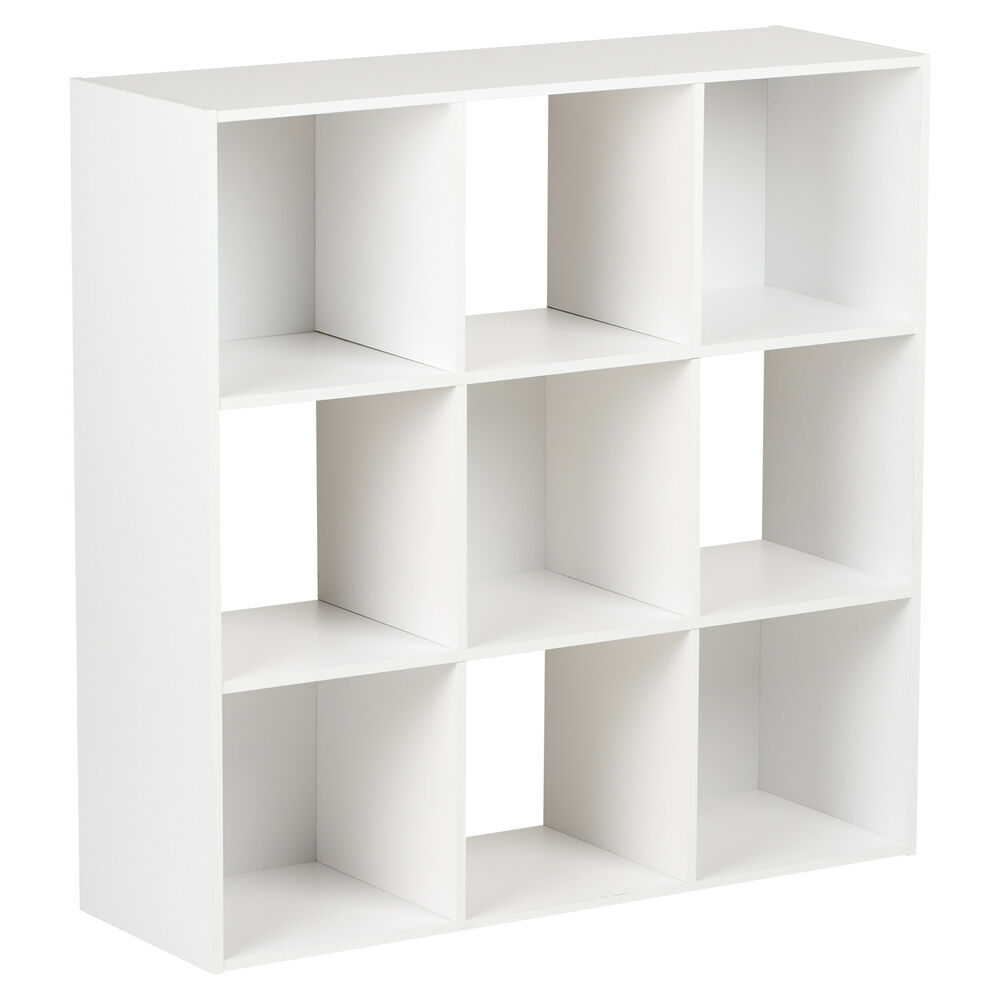 modular shelving units hartleys white 9 cube modular square storage shelving 3 23604