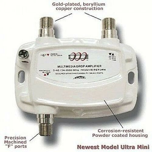 Pct Multimedia Drop Amplifier Pct Ma2 M Small White Used