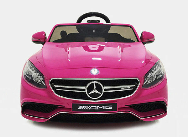 Kids 12v electric power wheels rc ride on car mercedes for Rc mercedes benz