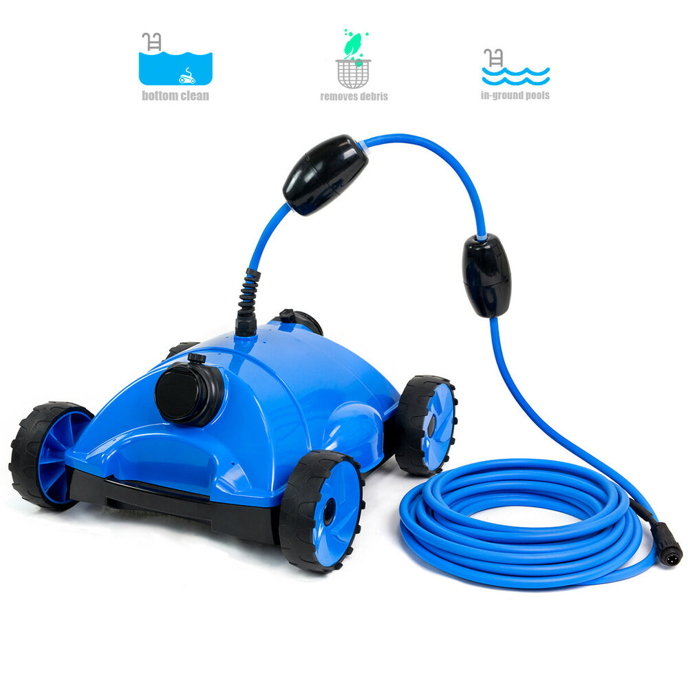 water bots above in ground swimming pool rover robotic floor vacuums cleaner ebay