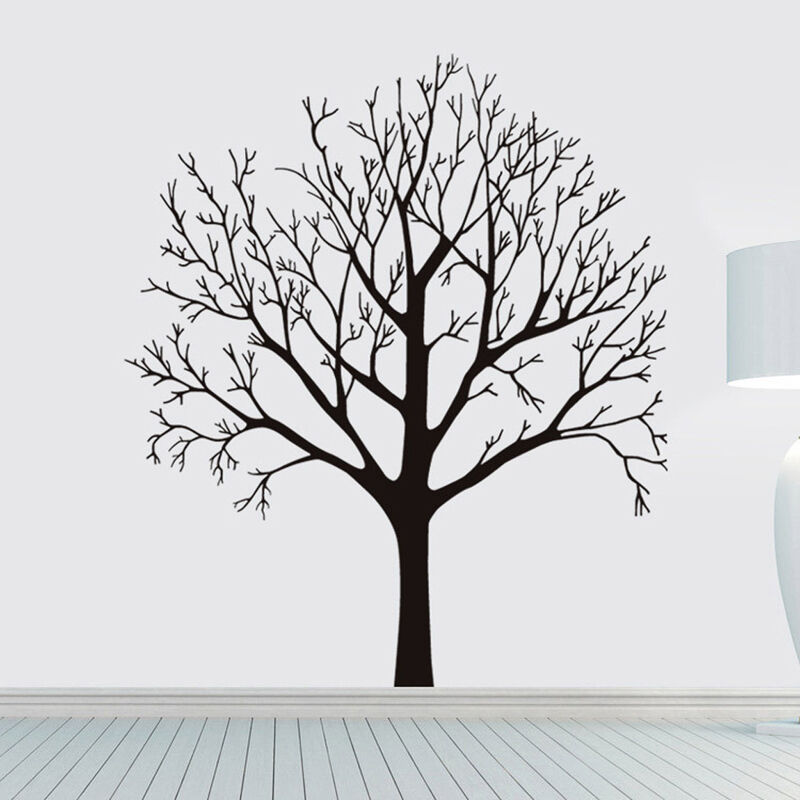 Black Tree Removable Decal Room Wall Sticker Vinyl Art Hot