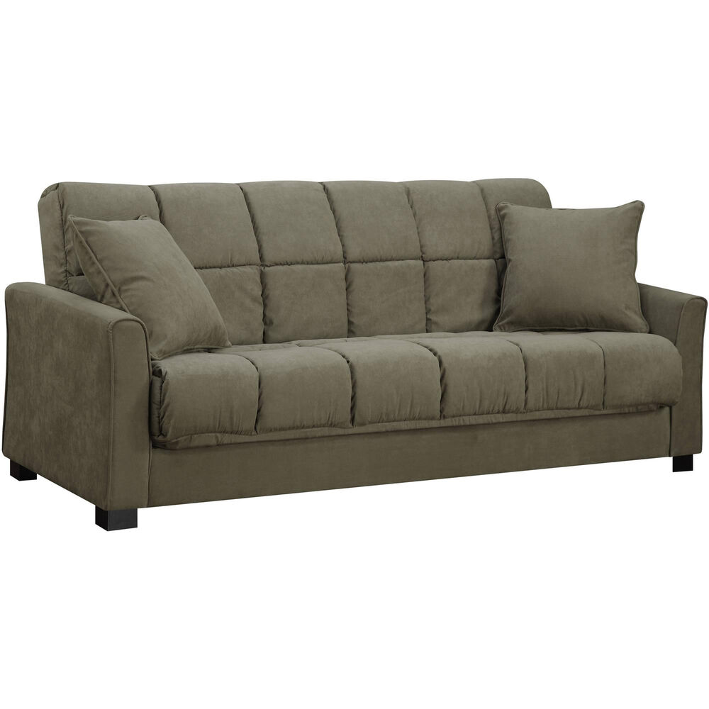 Sofa Couch Sleeper Convertible Bed Furniture Futon Full Size Living Room Modern Ebay