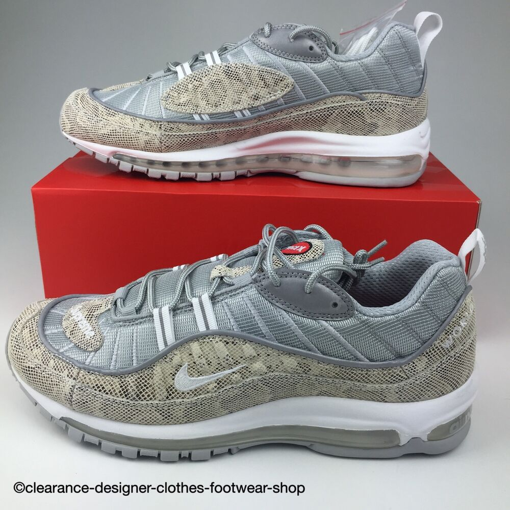 Details about NIKE AIR MAX 98 SUPREME X MENS TRAINERS NIKE LAB LTD EDITION  RARE SNAKESKIN SHOE 70ca385eb