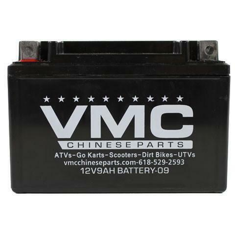 chinese atv 12 volt 9ah battery ebay. Black Bedroom Furniture Sets. Home Design Ideas