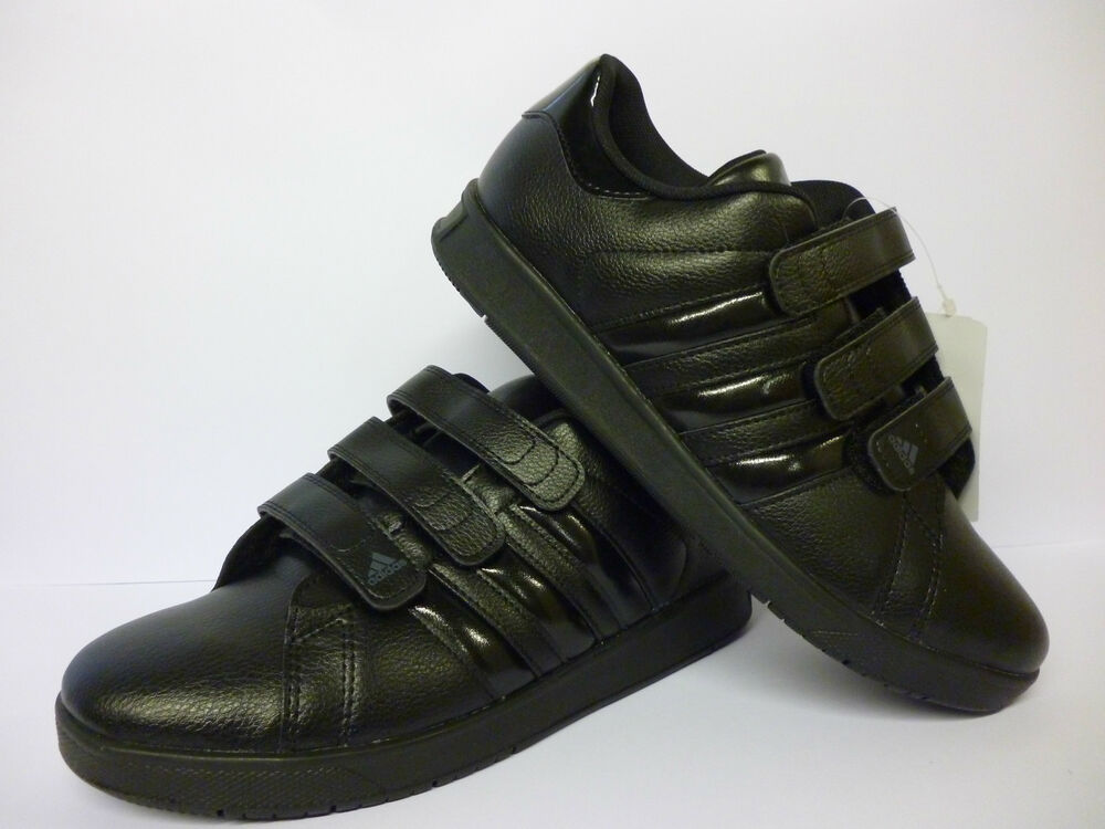 boys black adidas trainers