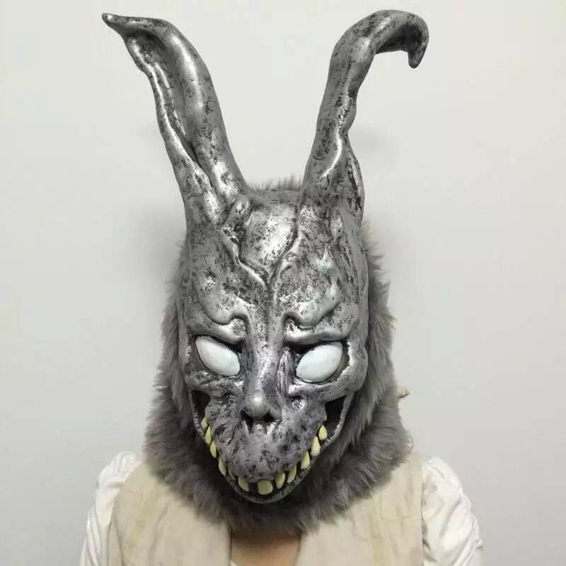 Donnie Darko FRANK the Bunny Rabbit MASK Latex Overhead ...