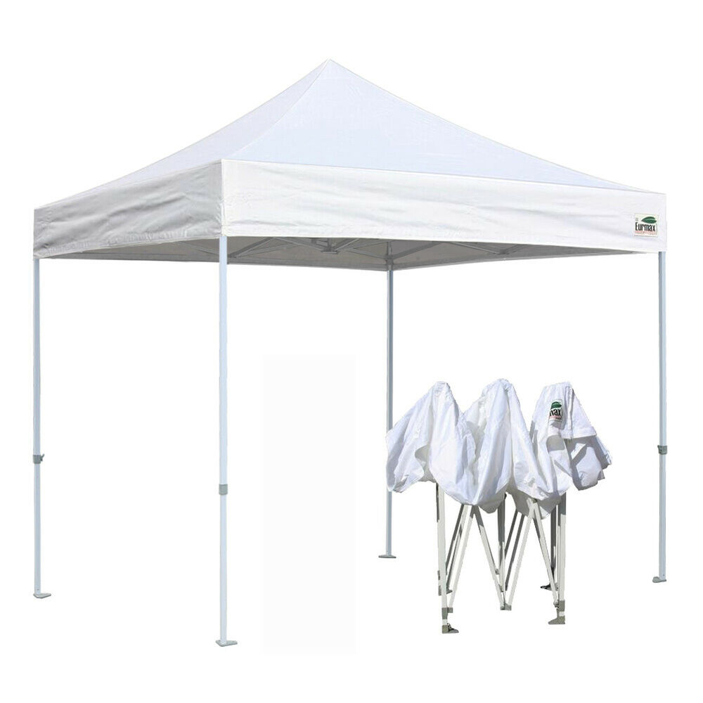 Eurmax Ez Pop Up Canopy No Matter 10x10 Portable
