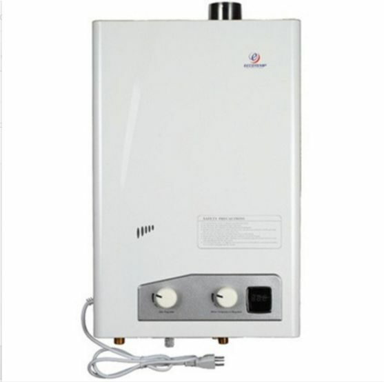 Tankless hot water heaters propane vent kit included for Energy efficiency kits