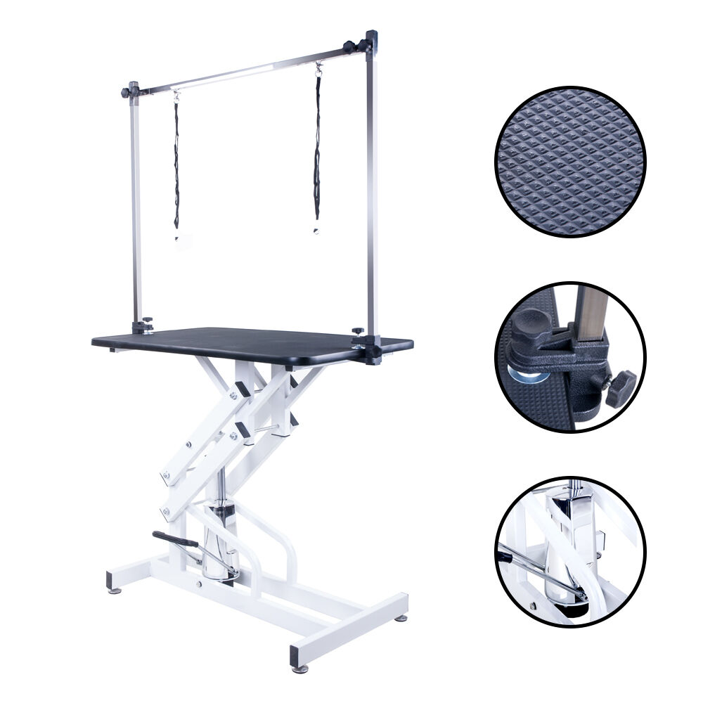 Portable Dog Grooming Table Height Adjustable