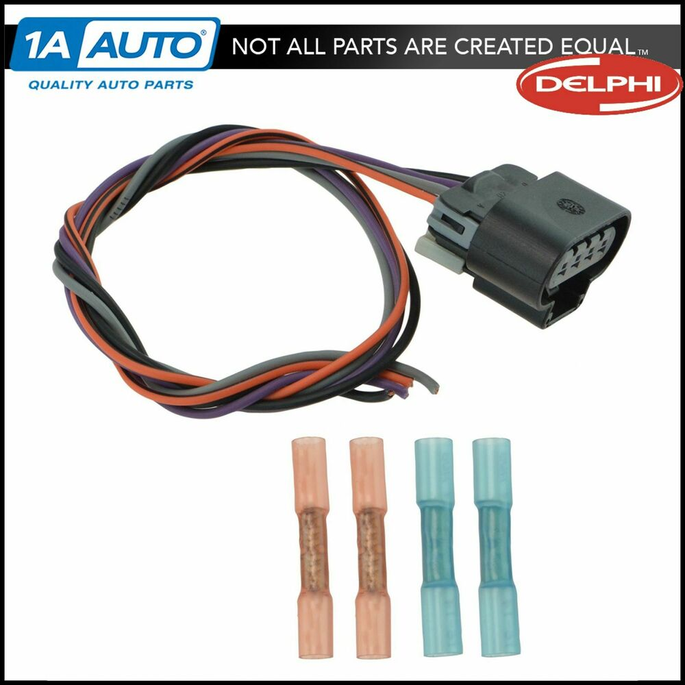 delphi fa10003 fuel pump wiring harness connector oval. Black Bedroom Furniture Sets. Home Design Ideas