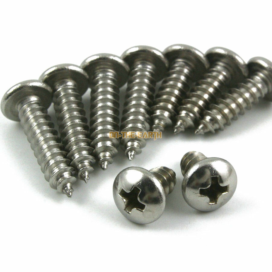 100 pieces m3 5 20mm 316 stainless steel phillips pan head self tapping screw ebay. Black Bedroom Furniture Sets. Home Design Ideas