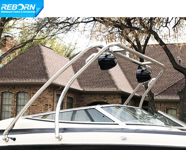 Reborn Thrust Wakeboard Tower Universal Fit Polished
