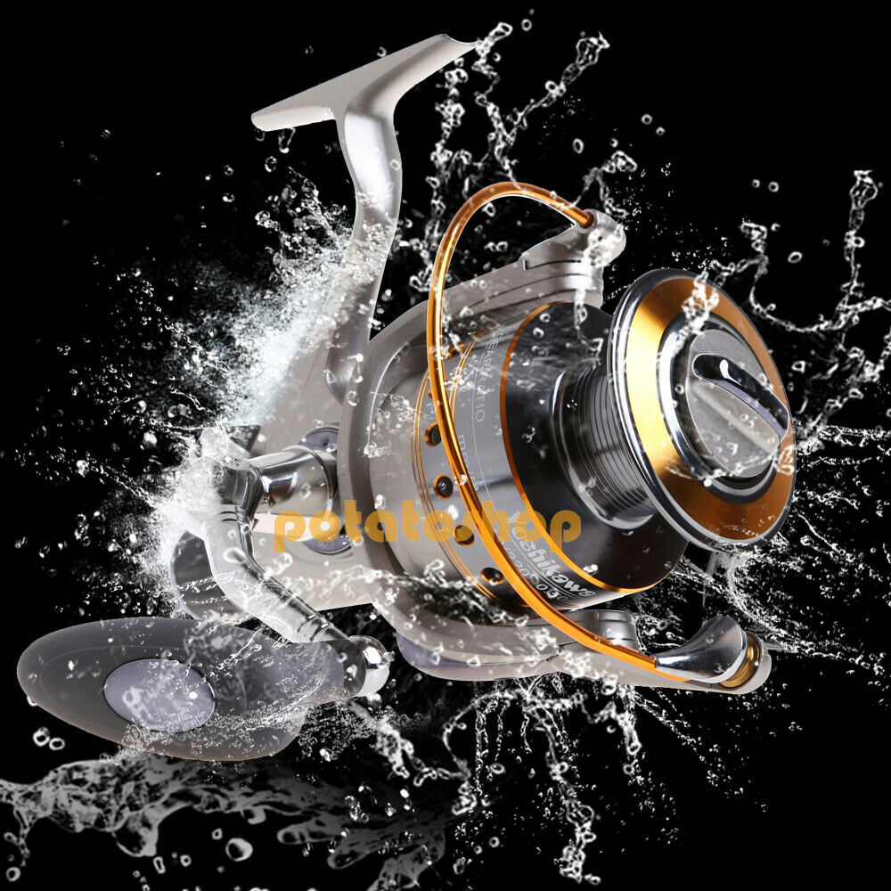 Yoshikawa spinning reel baitfeeder fishing saltwater for Ebay fishing reels