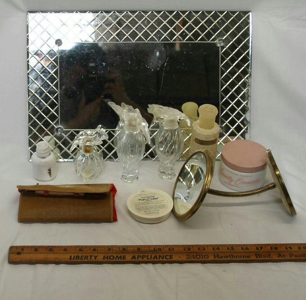 19 Quot X 8 Quot Vintage Vanity Dressing Table Tray With Mirror