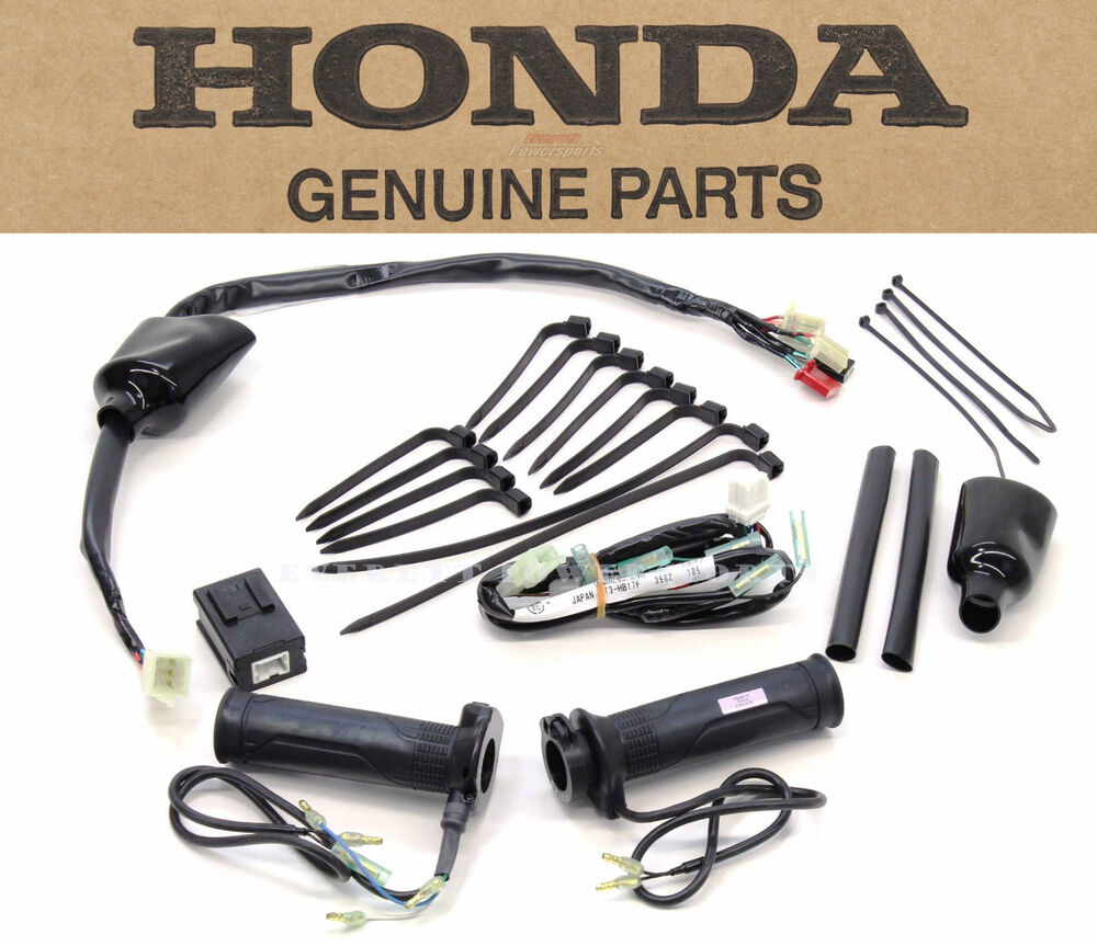 New Genuine Honda Heated Grips Kit St1300 Complete Grip Set And Hardware  N03