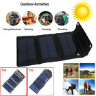 Portable Folding Solar Power Charger Panel USBPower bank Output for Mobile Phone