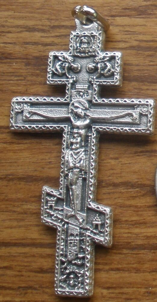 Sterling Silver Cross Necklace Handmade