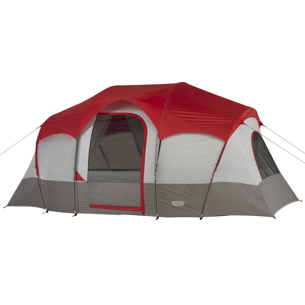 Wenzel 14 X9 Blue Ridge 7 Person Family Tent With 2