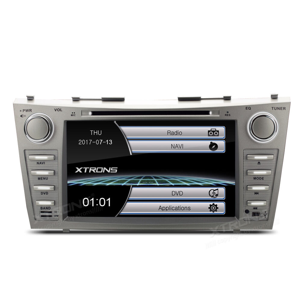 8 2din in dash car stereo dvd player gps bt radio for toyota camry 2007 2011 ebay. Black Bedroom Furniture Sets. Home Design Ideas