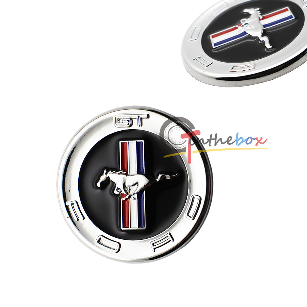 jdm running horse emblem metal door fender badge sticker. Black Bedroom Furniture Sets. Home Design Ideas