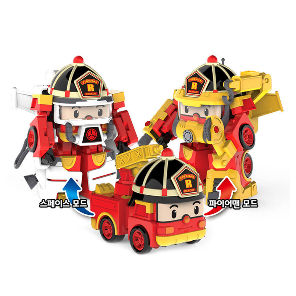 Robocar poli roy space fireman pack transformation robot - Robot car polly ...