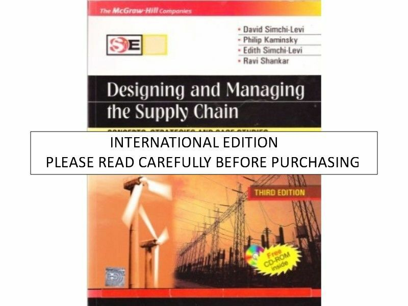 Designing And Managing The Supply Chain Simchi Levi Pdf